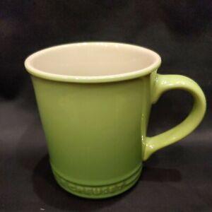 Le Creuset Stoneware Coffee Mug Cup Palm Green