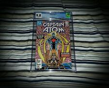 Captain Atom: 1 CGC 9.8 (1st appearace of Atom ll