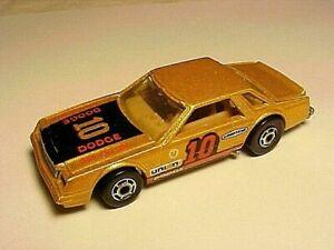 Hot Wheels Dodge  MIRADA STOCKER Metalflake Gold 1987