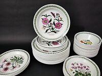 "(1) Only Portmeirion Botanic Garden PURPLE ROCK ROSE Salad 8 1/2"" Plate"