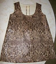 Vtg 1960s Faux Snakeskin Toddler Girls Dress, Beautifully hand-sewn by pattern