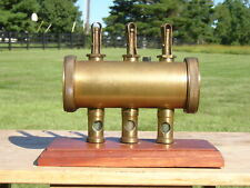 Triple Feed 3 Sight Glass Oiler / Steam Traction Engine / Gas Engine Hit & Miss