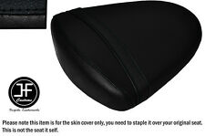 STYLE 2 BLACK VINYL CUSTOM FOR SUZUKI GSXR 1000 K7 K8 07-08 REAR SEAT COVER ONLY