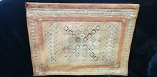 Vintage Leather Folder 22K Gold Gilded Middle Eastern Design