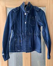 Vintage G-Star Organic Raw Mens Blue Denim Jacket Size M