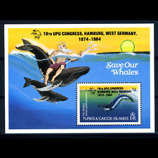 TURKS & CAICOS ISLANDS 1983 UPU Congress Ovpt SG MS 812 Mint Never Hinged(BH716)