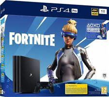 Sony Playstation 4 PS4 1TB Pro Black + Voucher Fortnite Neo Versa Neo Phrenzy