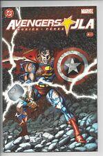 Avengers/JLA 4 NM (9.6) - Perez Art - high Grade