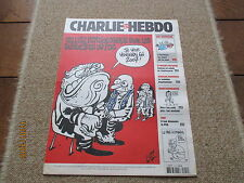 JOURNAL BD CHARLIE HEBDO 754 le pen cellule psychologique  supporters psg luz