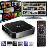 X96 2017 Android 7,1 dernière Smart TV Box S905W Quad Core Media 4k films sport