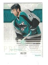 Tom Preissing 2003-04 Upper Deck SP Authentic Limited Gold RC #40/50 SAN JOSE