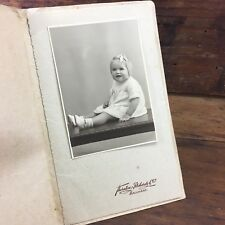 c.1920's THORNTON RICHARDS & Co. BALLARAT BABY PORTRAIT GOLDFIELDS