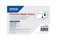 Epson VALE couponrolle c33s045389 papel normal 80mm x 50m INTERMINABLE MATE SEDA