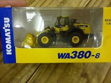F/S 1/87 Komatsu Official WA380-8 Wheel Loader diecast model rare  Not for sale