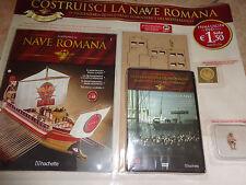 SALIDA N°1 CON DVD Y EL REMERO CONSTRUIR LA BARCO ROMANO HACHETTE 1:48