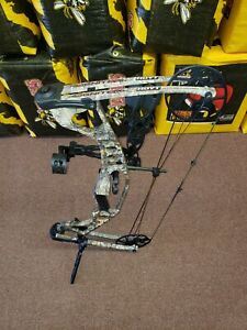Hoyt Ignite Bow. RH. Ready to hunt.  String in good condition,  cables are new.