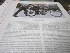 Motorrad Archiv Prominenz 4020 Alexander Anzani  1906 mit 3 Zylinder