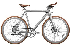 """FLX Babymaker Pro 23"""" E-Bike Fahrrad NEU Sterling Silver"""