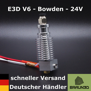 E3D V6 Hotend 1,75mm 24V - All Metal - Bowden-Extruder - schneller Versand