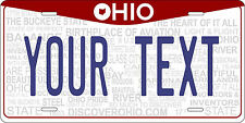 Ohio 2013 Tag License Plate Personalized Auto Car Custom VEHICLE OR MOPED