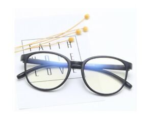 Clear Lens Unisex Nerd Geek Round Oval Style Hot Fashion Glasses Retro Frames