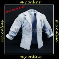 Hot Toys CMS02 City Hunter RYO SAEBA Figure 1/6 LIGHT BLUE JACKET