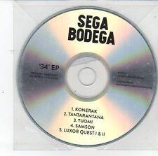(DS812) Sega Bodega, 34 EP - DJ CD