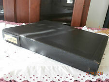 3 Ring Binder Filled Pages Unused Stamps Approx. $45.00 Face Value