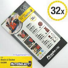 32 Black And Decker Multi Sander Sanding Sheets KA280K KA270K KA250K KA230E Pads