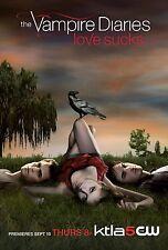 The Vampire Diaries movie poster print  - Ian Somerhalder poster - Love Sucks