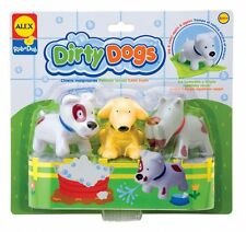 Alex Rub A Dub Dirty Dogs BATH TOY Toddler Pool Teething Kids  Game AL825DN