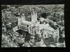 POSTCARD RP KENT CANTERBURY CATHEDRAL FROM THE AIR
