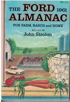 1961 issue of The Ford Almanac for farm, ranch & home