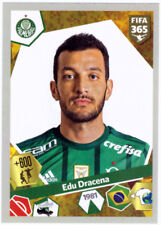 PANINI FIFA 365/2018 THE GOLDEN WORLD OF Fútbol Pegatinas #88 EDU DRACENA