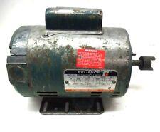 RELIANCE DUTY MASTER AC MOTOR C56H0507N, 1/4 HP, 1140 RPM, 115V, 5.8A, 60 HZ