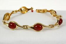 Wunderschönes Armband in 333 Gold mit  Karneol