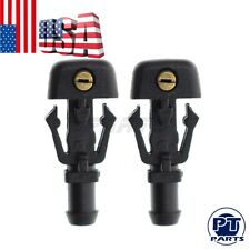 PAIR Windshield Washer Nozzle Spray For Ford Lincoln Mercury Sable Grand Marquis