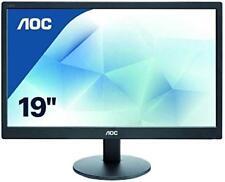 """Aoc E970swn Ecran PC LED 18 5"""" (46 99 Cm) 1366 x 768 5 MS VGA 019492752380"""