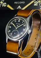 RECORD WWW- Cal 022K- British Military MoD Dirty Dozen Vintage WW2 Watch-