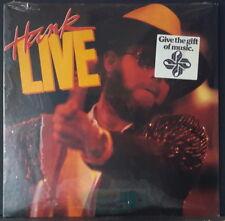HANK WILLIAMS JR. - HANK LIVE 1987 STILL SEALED ALBUM WARNER/CURB REC. 9 25538-1