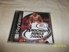 Knock-Out Kings 2000 For PlayStation 1 (COMPLETE)