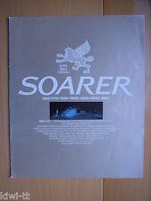 Toyota Soarer 2000 VI,VII, VR, VX, 2800 GT, GT Extra Prospekt / Brochure, Japan