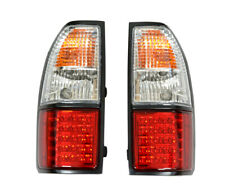 PAIR of LED Rear Tail Lamps For Toyota Landcruiser 90 Series 3.0TD 7/99>ON DEPO