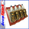 Accuspark triple ground,copper spark plugs AC9C, BP6ET, N7BYC X4