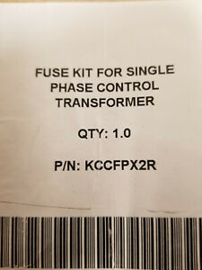 SIEMENS KCCFPX2R FUSE KIT FOR SINGLE PHASE CONTROL TRANSFORMER