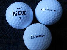 "20   NIKE ""NDX TURBO""  MIXED TURBO MODELS  Golf Balls  ""PEARL/A"" Grades."