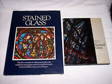 2 EXCELLENT BOOKS ON THE HISTORY OF STAINED GLASS AS ARCHITECTURAL ART!