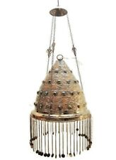 BR75 Outdoor Conical Brass Pendant Lamp / Lampshade Home Decor