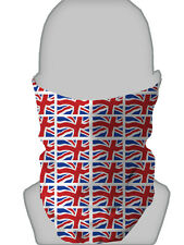 SMALL UNION JACK DESIGN NECK WARMER SCOOTER FACE MASK SCARF SNOOD L&S PRINTS