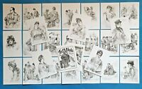 NEW Set of 26 A6 Postcards Illustrations from The Mikado 1888 by C.W Allers
